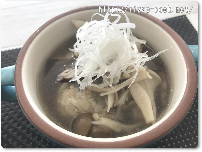 鶏団子スープ レシピ