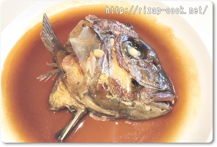 鯛のアラ煮 レシピ