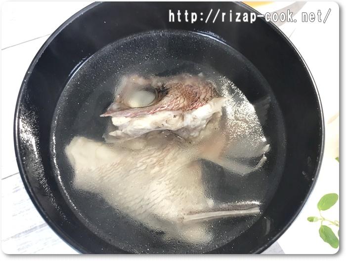 鯛のあら汁 レシピ