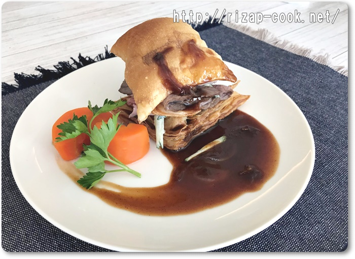 牛肉のブレゼのパイサンド